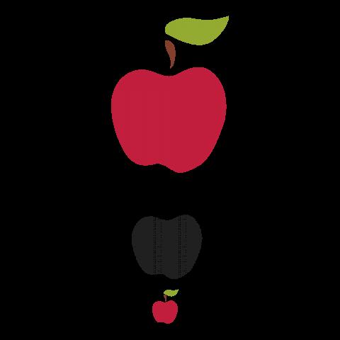 北欧りんご 大中小