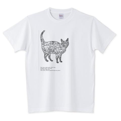 しあわせねこTシャツ