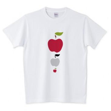 北欧りんご 大中小 Tシャツ