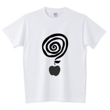 北欧くるくるりんごTシャツ