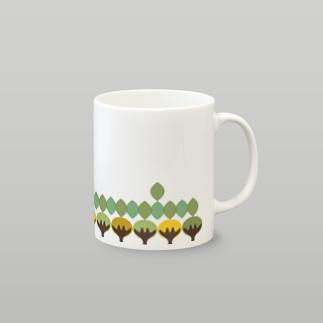 北欧の木 マグカップ