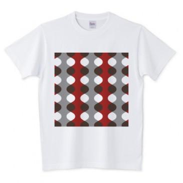 北欧モダン レッド Tシャツ